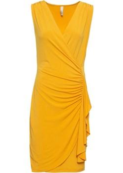 Sukienka kopertowa z falbaną   bonprix Bonprix   - kod rabatowy