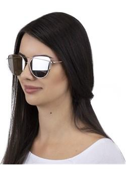 Okulary szyk srebro Iloko  crystalove.pl - kod rabatowy