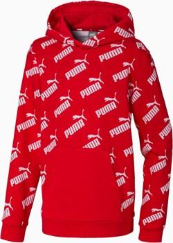 PUMA Amplified Graphic Boys' Hoodie, High Risk Czerwony, rozmiar 116, Odzież Puma PUMA EU - kod rabatowy