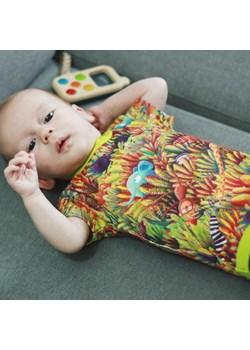 Body z krótkim rękawem - Dżungla Pontiki pontikibaby.com - kod rabatowy