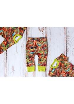 Zestaw Dżungla body krótki + długi rękaw + spodnie Pontiki pontikibaby.com - kod rabatowy