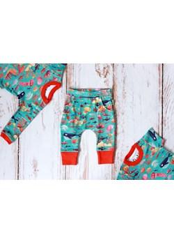 Zestaw Ocean body krótki + długi rękaw + spodnie Pontiki pontikibaby.com - kod rabatowy