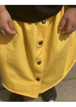 Długa spódnica Botton żółta Tono - kod rabatowy