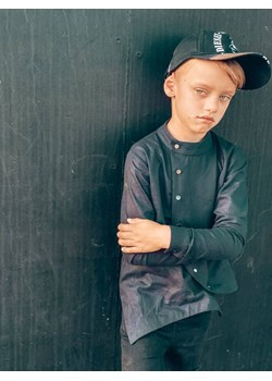 Koszula czarna MOON Tono - kod rabatowy