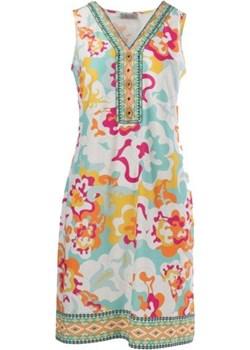 Wyjątkowa sukienka na słoneczne dni od MALVIN wiosna 2020 model 8930-012 Malvin samplesale.pl - kod rabatowy