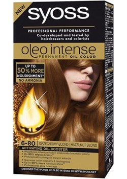 SYOSS_Oleo Intense farba do włosów trwale koloryzująca z olejkami 6-80 Orzechowy Blond Syoss perfumeriawarszawa.pl - kod rabatowy