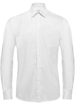 Bodara koszula męska  biała z długim rękawem Bodara ATELIER-ONLINE - kod rabatowy