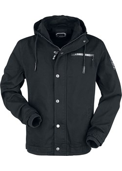 RED by EMP - Black between-seasons jacket with labeldetails - Kurtka przejściowa - czarny EMP - kod rabatowy