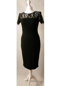 Sukienka czarna z koronką u góry  Kozłowski MyLittleHeaven - kod rabatowy