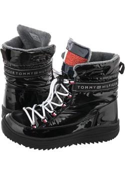 Śniegowce Tommy Hilfiger Technical Bootie T3A6-30870-1045 999 Black (TH159-a) Tommy Hilfiger ButSklep.pl - kod rabatowy