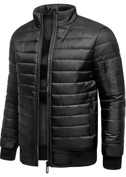 Przejściowa kurtka męska MY-22-1 - czarna Risardi Risardi okazyjna cena - kod rabatowy
