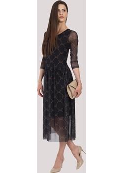 Sukienka CELIA midi z rękawkiem Maravilla Boutique Maravilla Boutique  - kod rabatowy
