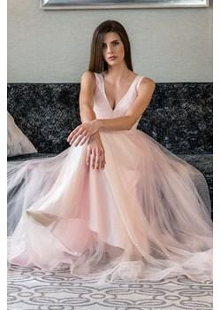 Sukienka DREAM maxi tiulowa złoty błysk Maravilla Boutique Maravilla Boutique  - kod rabatowy