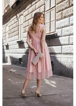 Sukienka PRICILLA midi Maravilla Boutique Maravilla Boutique  - kod rabatowy