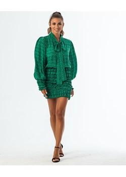 DOLL - jedwabna sukienka mini   My Image Art - kod rabatowy