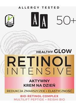 AA RETINOL INTENSIVE 50+ aktywny krem na dzień redukcja zmarszczek+elastyczność 50 ml Oceanic_sa Oceanic_SA - kod rabatowy