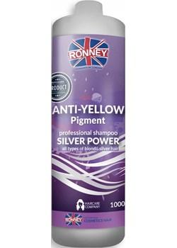 Szampon  Ronney ANTI YELLOW  neutralizujący żółte tony 1000 ml dlafryzjerow.pl - kod rabatowy