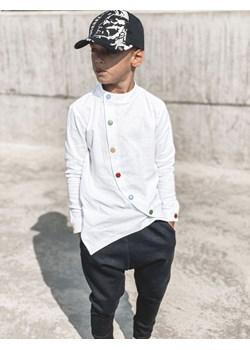 Biała lniana koszula MOON Vavu vavu.pl - kod rabatowy