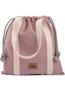 Torebka basic me 25 Baggy wodoodporny blado różowa  Me&Bags okazja   - kod rabatowy