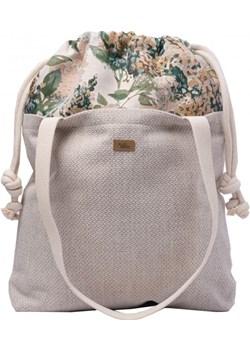 TOREBKA SHOPPER DUO BAG KREMOWA BLOOM Me&Bags   - kod rabatowy