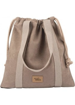 TOREBKA SHOPPER BAGGY TAUPE WODOODPORNA  Me&Bags  - kod rabatowy