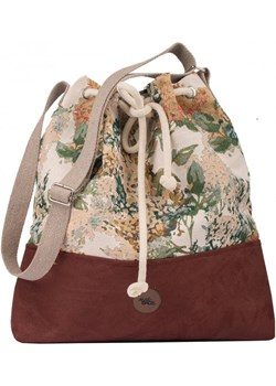 "Torebka worek ""BUCKET BAG"" z regulowanym paskiem, kolor bordo bloom Me&Bags   - kod rabatowy"
