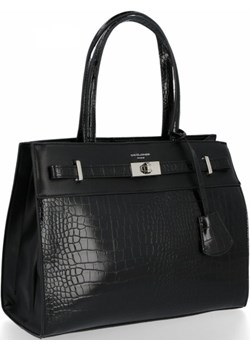Klasyczna torebka damska David Jones Czarna David Jones wyprzedaż torbs.pl - kod rabatowy