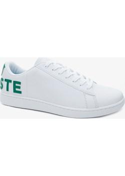 Lacoste Carnaby Evo 120 7 US Męskie Sneakersy Lacoste wyprzedaż Lacoste PL - kod rabatowy