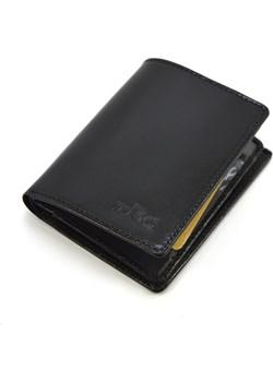 Męski portfel skórzany pm4 czarny TMC Premium Tmc Naturalleather portfele-skorzane.pl wyprzedaż - kod rabatowy