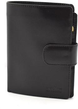 Męski portfel skórzany pm9 czarny TMC Premium Tmc Naturalleather okazyjna cena portfele-skorzane.pl - kod rabatowy
