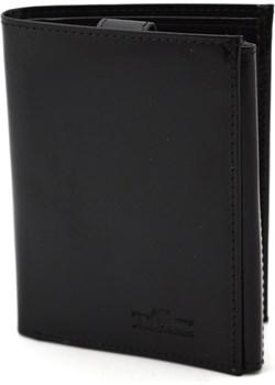 Męski portfel skórzany pm2 czarny TMC Premium Tmc Naturalleather wyprzedaż portfele-skorzane.pl - kod rabatowy