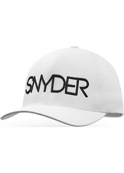Czapka golfowa SNYDER Delta White L/XL Snyder Golf wyprzedaż TOMA MARKETING - kod rabatowy