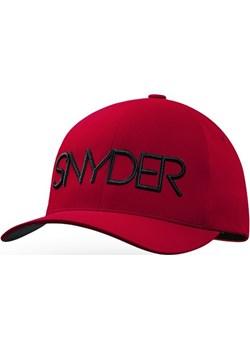 Czapka golfowa SNYDER Delta Red S/M Snyder Golf okazja TOMA MARKETING - kod rabatowy