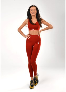 Legginsy bezszwowe Red Plain Shape (Push Up) XS/S Boco Wear - kod rabatowy