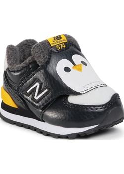 Sneakersy NEW BALANCE - IV574AQP  Czarny eobuwie.pl - kod rabatowy