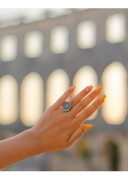 Moneta - pierścionek srebrny Venus Galeria Venus Galeria - Magiczny Ogród Bizuterii Srebrnej - kod rabatowy