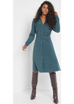 Sukienka koszulowa z paskiem orsay.com - kod rabatowy