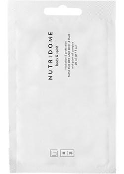 Maska do włosów suchych i łamliwych z kompleksem olejów roślinnych Nutridome NUTRIDOME - kod rabatowy