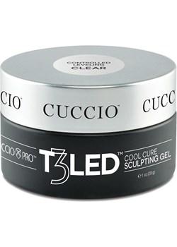 Żel T3 LED bezbarwny galaretta 28 g Cuccio wyprzedaż Cuccio - kod rabatowy