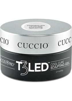 Żel T3 LED biały galaretta 28 g Cuccio promocyjna cena Cuccio - kod rabatowy
