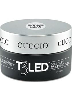 T3 LED samopoziomujący bezbarwny 28 g Cuccio Cuccio okazyjna cena - kod rabatowy