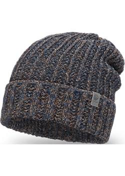Przedłużana czapka męska z domieszką wełny Pamami PaMaMi - kod rabatowy
