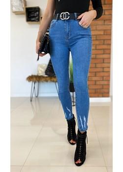 Spodnie jeansowe klasyczne 93# Limonka Limonkashop.pl - kod rabatowy