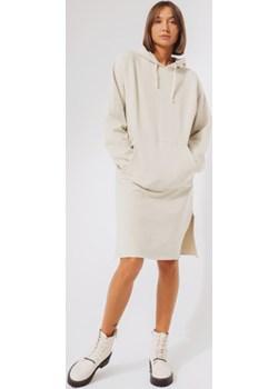 sukienka z kapturem / hoodie dress n.2 baltic sand S wyprzedaż NEATNESS - kod rabatowy