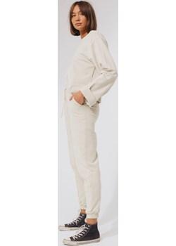 spodnie dresowe z przeszyciem / sweatpants n.2 baltic sand S okazja NEATNESS - kod rabatowy