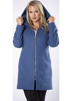 Taliowany płaszcz z kapturem Candivia 2020 - kod rabatowy