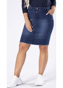Jeansowa spódnica o ołówkowym kroju Candivia 2020 - kod rabatowy