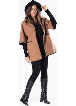 Pudełkowy płaszcz z rękawem 3/4 Candivia 2020 - kod rabatowy