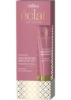 L'BIOTICA Eclat Lip Glow - nawilżające serum do ust z olejem różanym 15 ml Oceanic_SA - kod rabatowy