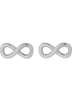 Srebrne Kolczyki Sztyfty Nieskończoność  Perlove Biżuteria-Perlove - kod rabatowy